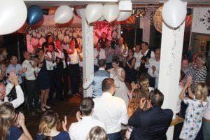 Feestband bruiloft