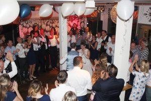 Band voor een bruiloft